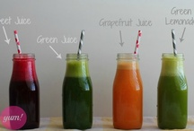Juicing Recipes / How to Juice and Recipes for Juicing Veggies and Fruit