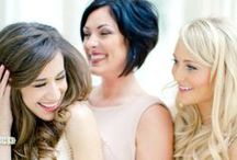 """Bridesmaids / """"I couldn't say 'I DO' without my lovely bridesmaids by my side""""  :) xoxo"""