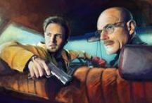 """Breaking Bad + Better Call Saul / """"You see, technically, chemistry is the study of matter, but I prefer to see it as the study of change: Electrons change their energy levels. Molecules change their bonds. Elements combine and change into compounds. But that's all of life, right? It's the constant, it's the cycle. It's solution, dissolution. Just over and over and over. It is growth, then decay, then transformation. It is fascinating, really."""" - Walter White"""