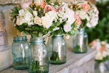 Rustic Love / I love Rustic Weddings!   These are some beautiful inspired ideas that are also my favourites.