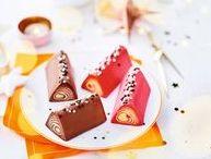 Bûches et desserts de Noël / Avec les Bûches Picard, Noël sera chic et gourmand ! #Bûche, #glacée, #bûchette, #chocolat, #vanille, #marron, #caramel. #Picard