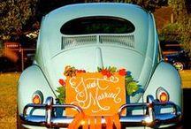 Wedding Getaway Cars   / Getaway Car Inspiration ~ Love these getaway wedding cars !