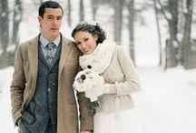 Wintery / Beautiful Winter Wedding Inspiration