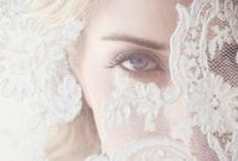 Veils and Headpieces / Inspiration of Beautiful Veils and Headpieces for a romantic Wedding.