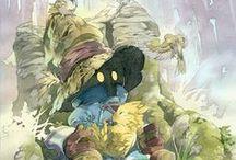 Final Fantasy + Kingdom Hearts