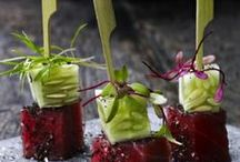 FANCY DINNER PARTY FOOD / Some ideas and inspiration for food that will wow dinner party guests.