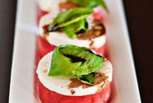 ENTREES & APPETISERS / Recipes and ideas to start a meal - entrees and appetizers.