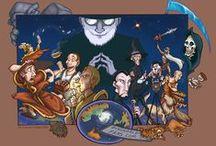 Discworld   Плоский мир / иллюстрации к книгам Терри Пратчетта о Плоском мире