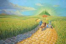 Oz | Страна ОЗ / иллюстрации к книгам Лаймена Фрэнка Баума
