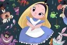 Alice in Wonderland   Алиса в стране чудес / иллюстрации к книге Льюиса Кэрролла