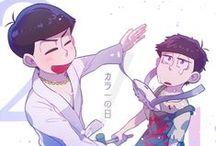 Osomatsu-san / Trash brothers