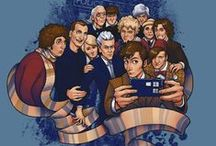 Doctor Who / I can't help but love all the doctors.