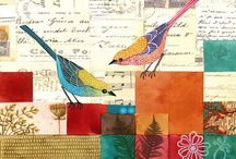 Art: Journals, mixed media and collage