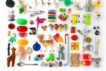 Creatively Beautiful Hoarding / Beautiful collections of things, arranged nicely, that husbands would hate.