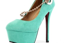 Ultra-high Heel Pumps / by Weenfashion.com