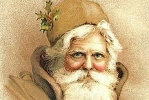 Christmas | Father Christmas / Father Christmas, Santa Claus, Saint Nicholas, KIng Winter, the Frost King, the Holly King, Ded Moroz, Tomte