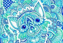 Art Journaling / Ideas and patterns for art journaling.