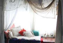 Interiors   Sleeping Nooks / Cozy sleeping nooks, attic bedrooms, cupboard beds, closet beds, bunk beds.