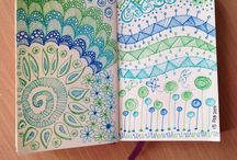 Wena's Art, Drawing and Journals / Being creative with anything in art! Crafts, doodling, mandalas, zentangles, painting, etc.