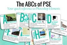 ABCs of PSE / Bite sized Photoshop Elements lessons Learn more here: http://www.digitalscrapbookinghq.com/abc