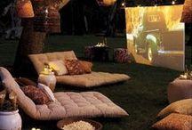dream home outdoors (terraces, gardens, courtyards)