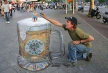 3D/Chalk Art / by Janine Coschigano