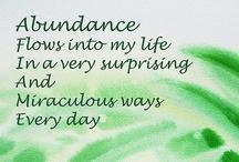 attracting abundance / by Kari Ann Ramsey