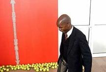 Black My Story / 12 april - 17 augustus 2003 | De tentoonstelling Black My Story speelde in op het actuele vraagstuk van identiteit in een tijdperk waarin politieke, economische en culturele discussies in de media zich concentreren op etniciteit, herkomst of verblijfplaats. Met werk van Chikako Watanabe, Jimmie Durham, Shirana Shahbazi, Remy Jungerman en Samson Kambalu.