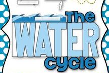 Earth's Water & Atmosphere / Water cycle, weather, atmosphere / by Jenni S