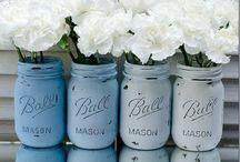 <3 mason jars <3 / by Margritha Larson