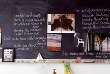 chalkboard paint in life / by - SAND -