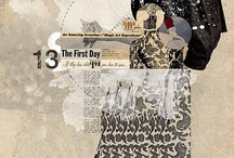 mixed media / by - SAND -