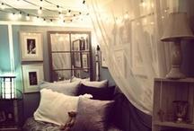 Bedroom ideas / by Amina McCabe