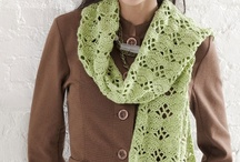 Crochet  Scarves, Cowls, Hats etc.. / by Cheryl Box