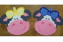 Crochet Kitchen & Pot Holders etc... / by Cheryl Box