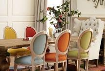 ◕Interior Design / Decoration ideas, living room, dining room, house decoration