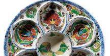 Kütahya Çini ve Seramikleri | Kütahya Ceramics and Tiles / The beginnings of the Suna and İnan Kıraç Foundation's Kütahya Tiles and Ceramics Collection go back to the 1980s, when it was formed at the wish of Suna Kıraç, and over the years has grown to become one of the most outstanding of its kind. | Suna ve İnan Kıraç Vakfı  Kütahya Çini ve Seramikleri Koleksiyonu, 80'li yıllarda Suna Kıraç'ın arzusu üzerine toplanmaya başlamış ve yıllar içinde genişleyip zenginleşerek günümüze ulaşmış bir özel koleksiyondur.