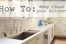 Kitchen Tips on Cleaning etc.... / by Cheryl Box