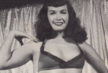 Betty Page / Found Vintage photos of Betty Page