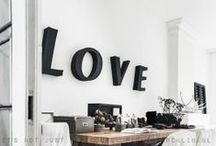 ◕Typography / Letters as decorative items!