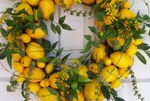 ◕Wreaths / Beautiful wreaths made from all kinds of material