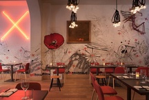 Hotels | Restaurants / by Retail Design Blog