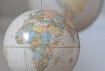 Around the World / by Cheryl Box