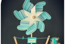 ◕Baby Boy & Baby Girl / Decoration ideas for nurcery rooms, boy shower party, girl baptism,
