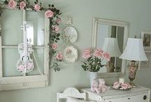 Floral / Thinking of spring... Soft, pretty, feminine florals are a top trend this year. www.idealhomeshowshop.co.uk