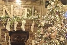 Mistletoe and Wine / Christmas room ideas that are simply beautiful for the festive season. http://www.idealhomeshowshop.co.uk/