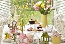 Spring / Brighten up your home for spring with flowers and Easter designs. www.idealhomeshowshop.co.uk