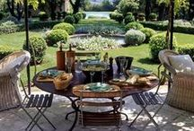Garden Glamour / Stylish garden furniture and sophisticated outdoor living www.idealhomeshowshop.co.uk