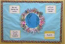Bulletin board ideas / For a classroom