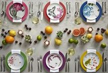 Effortlessly Inspired / Inspired by the way Kelly entertains, Effortless Table was born of his love of mixing fine china with contemporary and vintage pieces that he's collected over the years. The bold, fresh tabletop line is available exclusively on macys.com here: http://bit.ly/effortlesstable / by Clinton Kelly